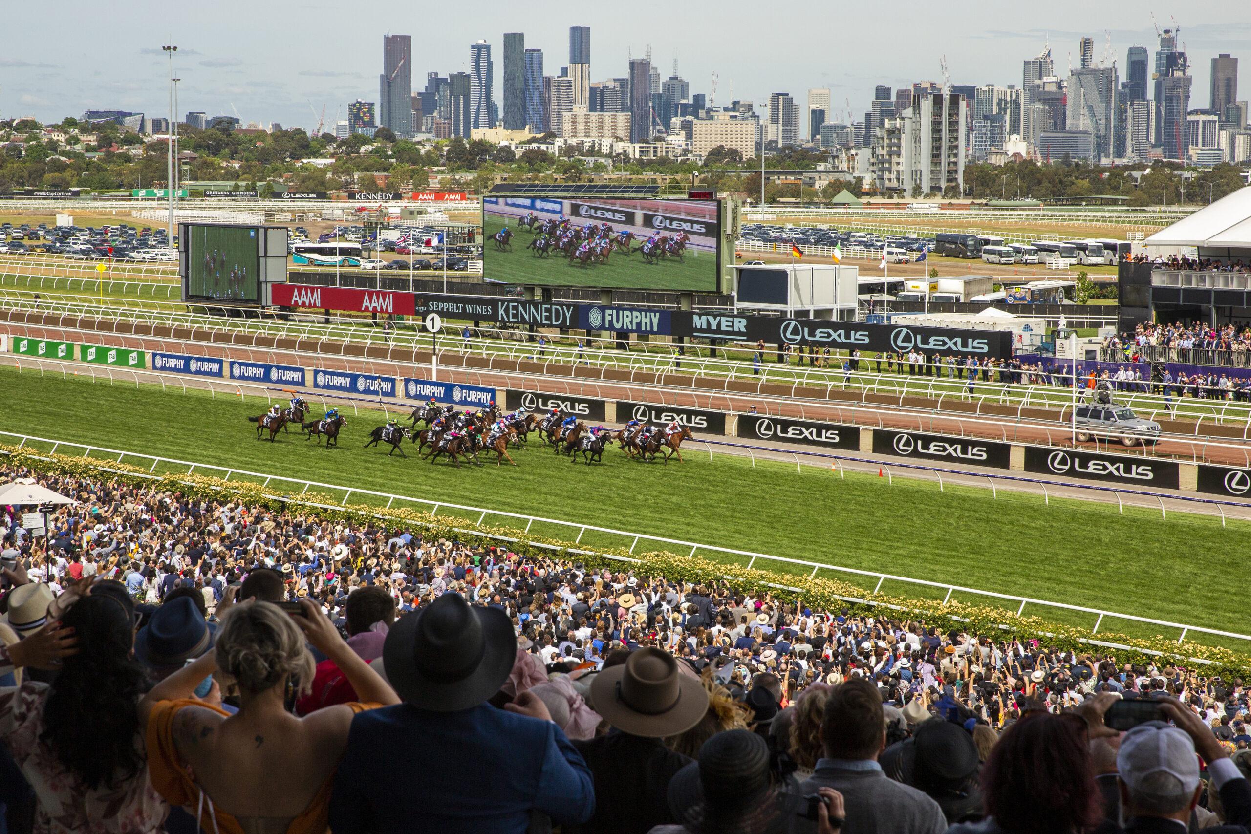 Australia, Klondike wyścigów konnych. Największe pieniądze, najlepsze konie.